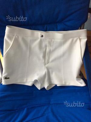 Pantaloncini tennis C.Lacoste vintage anni 90 t.48