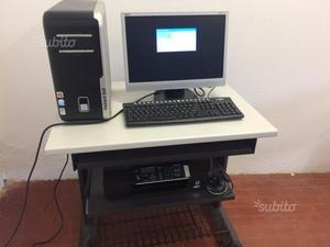 Tavolo supporto pc e stampante posot class - Mensola porta modem ...