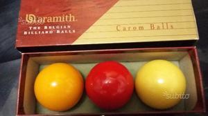 Set bocce biliardo aramith - carom balls