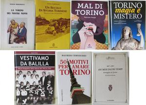 7 libri vari su Torino