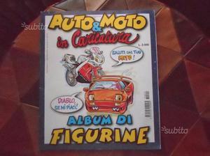 Album figurine Auto e moto in caricatura edigamma
