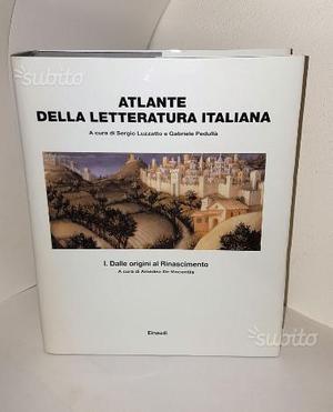 Atlante della letteratura italiana. Vol.1-2-3