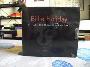 Billie Holiday - Box 10 cd originali con libro