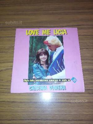 Disco in vinile sigla telefilm Kiss Me Licia
