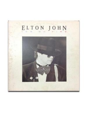 Disco vinile Elton John 33 giri Ice On Fire