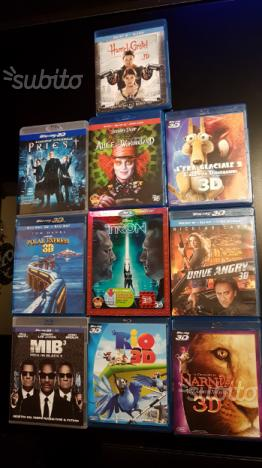 Film + cartoni animati 3D Blu-ray