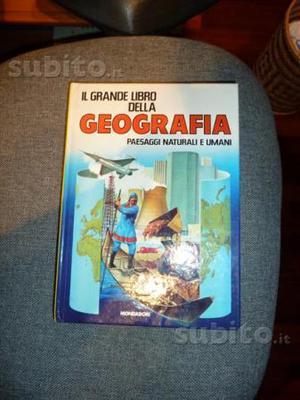Grande Libro della Geografia anni 80