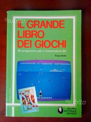 Il Grande Libro dei Giochi per COMMODORE 64