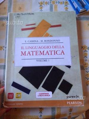 Il linguaggio della matematica volume 1