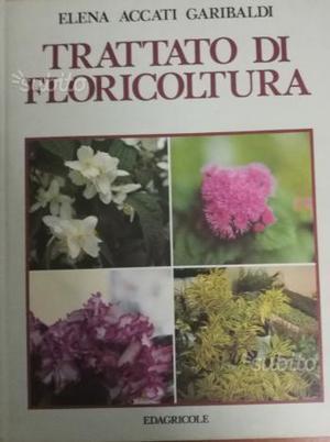 Libro Piante - Trattato di Floricoltura