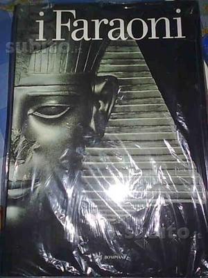 Libro con copertina rigida sull'egitto i faraoni