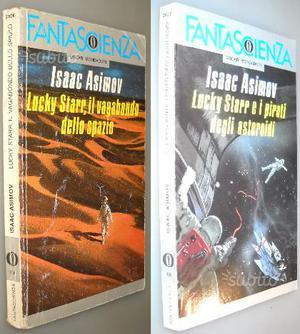 Lotto 2 volumi Lucky Starr: I pirati degli asteroi