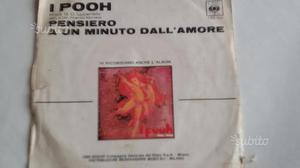 Pooh - Pensiero/A un minuto dall'amore (45 giri)