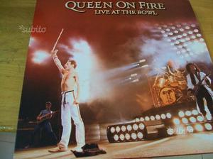 Queen on fire live at the bowl triplo lp mint