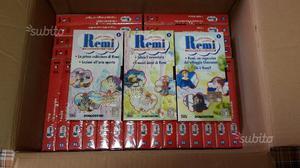 Remì VHS DeAgostini Serie Completa + Manuali
