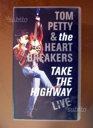 """Tom Petty """"Take the highway live"""" (VHS originale)"""