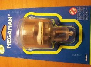 Faretti fluorescenti 220V 7W GU10 (8 pezzi)