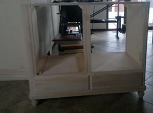 Base cucina in legno massello
