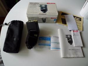 Flash Metz 54 MZ3 adattatore Canon