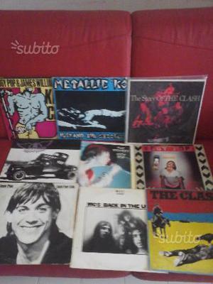 Iggy pop -the clash- lp punk anni 70
