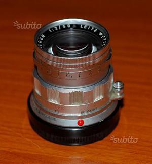 Leica M leitz summicron 50 f2 rigido