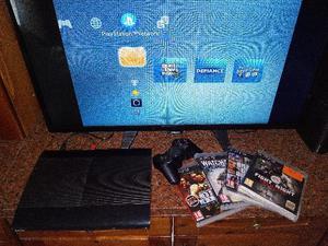 PS3 SuperSlim 250 GB 1Joypad
