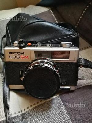 Ricoh 500 gx analogica
