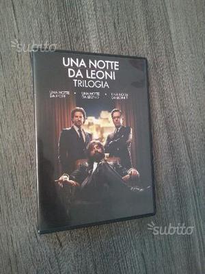 """Trilogia """"Una Notte da Leoni"""" Nuova"""