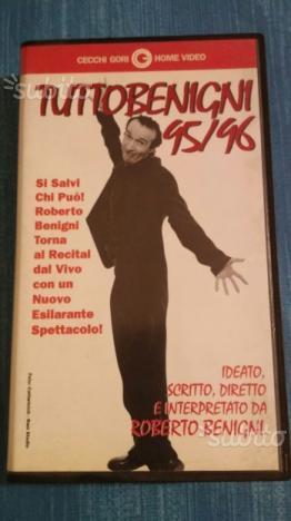 Tutto Benigni  VHS Originale