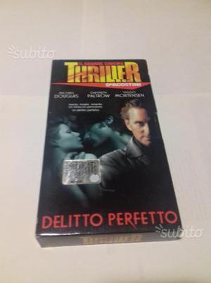 """VHS anni '90 """"IL DELITTO PERFETTO"""""""