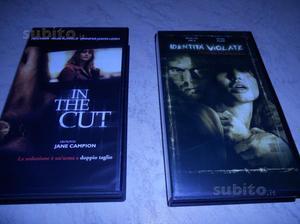Video cassette originali film thriller