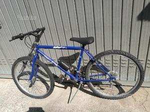Bici uomo Mtb 26 blu
