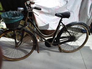 Bicicletta donna ruote da 26 con freni a bacchetta