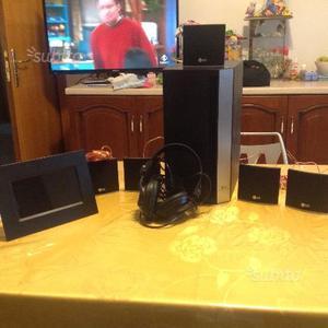 Impianto hi fi LG+ cuffie sonoko+ cornice digitale