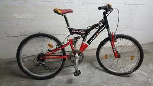 """Mountain Bike biammortizzata 24"""""""