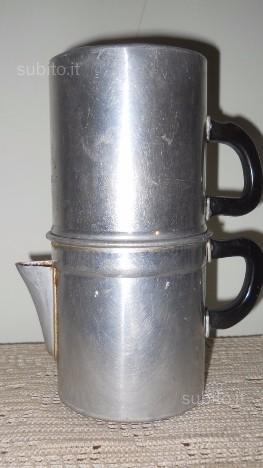 Antica caffettiera napoletana anni 60 posot class for Caffettiera napoletana alessi