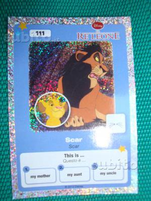 Carta i classici WALT DISNEY N' 111 Scar il Re Leo