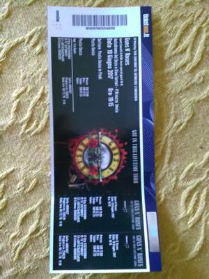 Guns n'Roses - Biglietto Concerto Imola 10/6