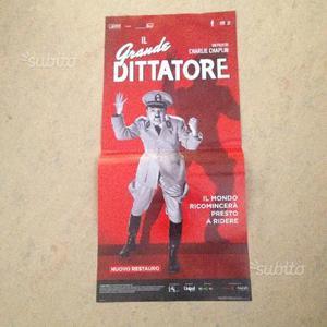 "Locandina orig. film "" IL GRANDE DITTATORE"""