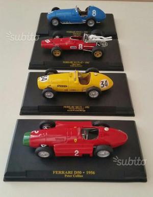 Modellini Ferrari F1 Scala 1:43 Collezione Ixo