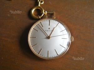 Orologio da tasca Zenith in oro anni