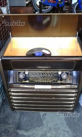 Radio giradischi anni 50 grunding