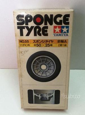Tamiya RC Vintage Sponge tyre SP