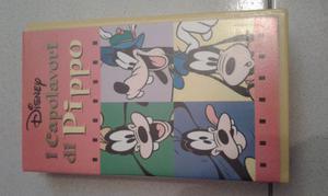 """Videocassetta Disney """"I capolavori di Pippo"""""""
