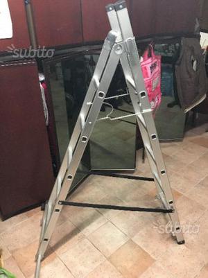 Scala in alluminio 3 posizioni NUOVA
