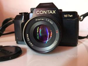 Contax 167MT Reflex 35mm Carl Zeiss 50mm f1,7
