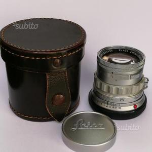 Leica M Summicron 50 f/2 rigido