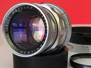 Leica M Summicron 50/2 rigido SPLENDIDO