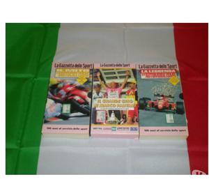 Lotto film VHS 41 pezzi+set gioco e bandiera italia 90x70