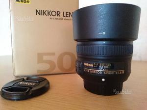 Nikon 50mm f1.8 G FullFrame